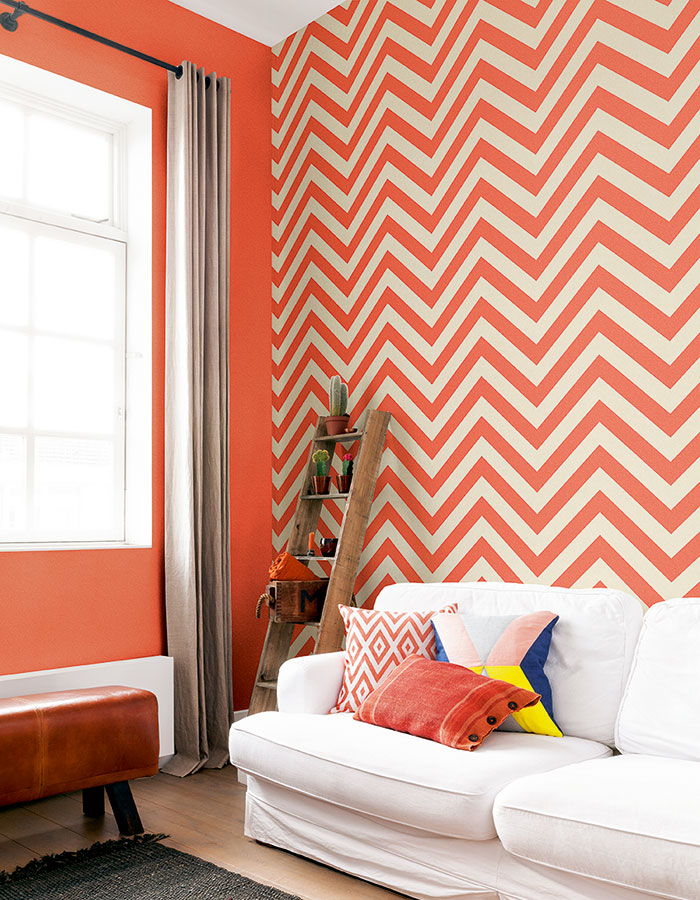 Geometric Wallpaper Inspiration To Create A Wow Factor