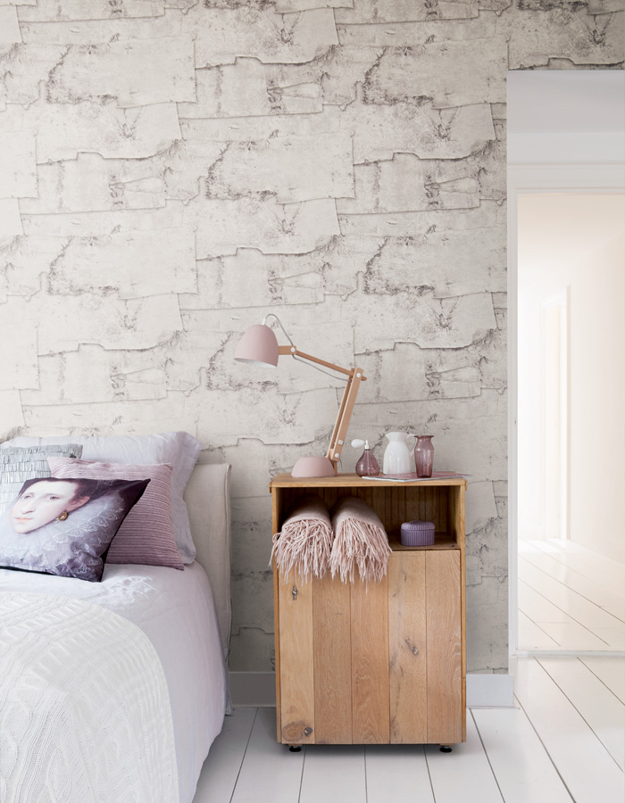 A Wallpaper Trend On The Rise Faux Wallpaper