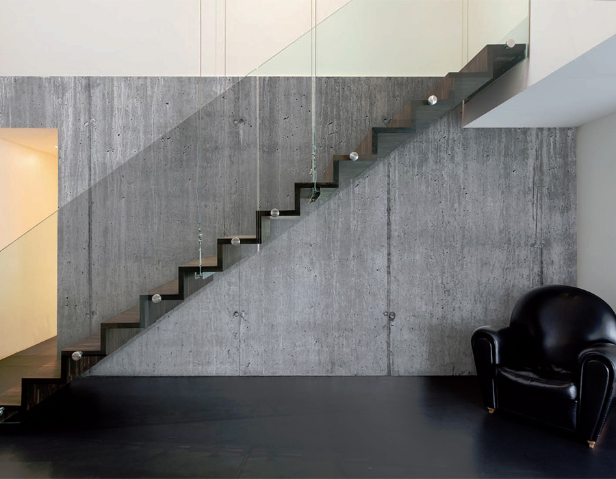 How to create industrial chic business interiors How to finish a concrete wall